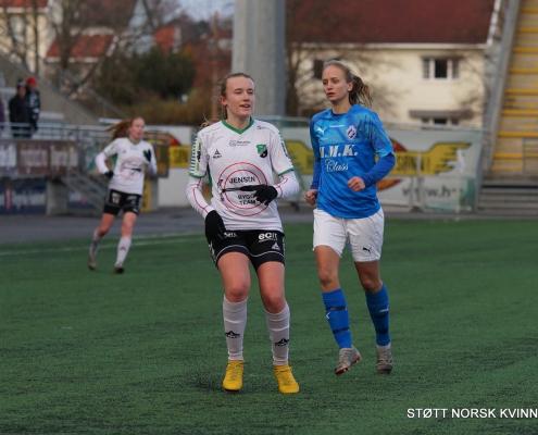 Jenny Strandheim - fotball